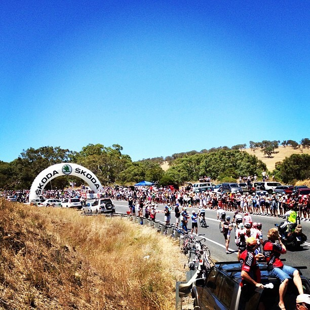 KOM Stage 3 Tour Down Under 2012