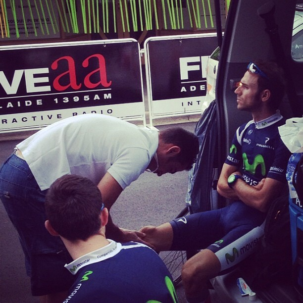 Alejandro Valverde Tour Down Under 2012