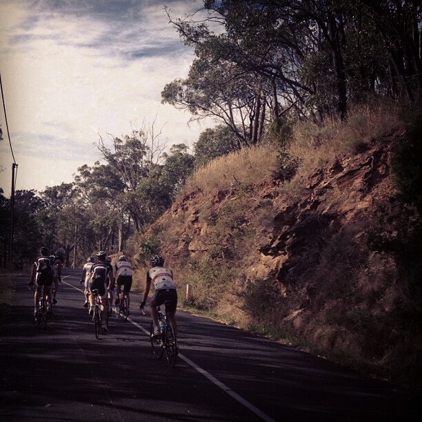 Riding in the Adelaide hills