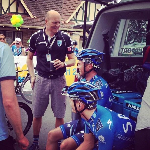 Team Saxo Bank Tour Down Under 2012