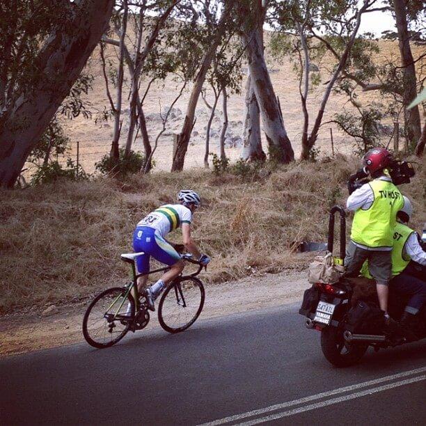 Rohan Dennis Stage 4 Tour Down Under 2012