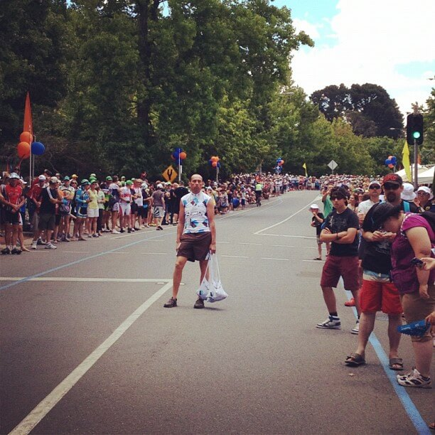 Feed Zone Tour Down Under 2012