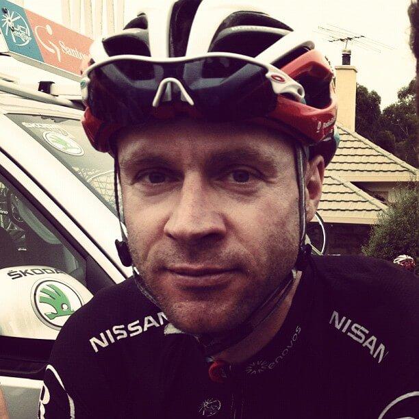 Jens Voigt Tour Down Under 2012