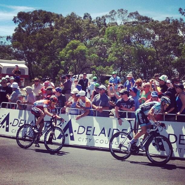 Marting Kohler Stage 5 Tour Down Under 2012