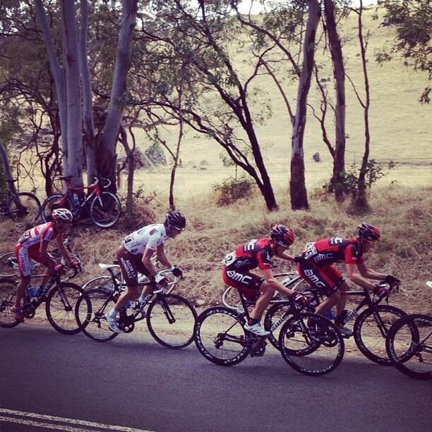 Martin Kohler Stage 4 Tour Down Under 2012
