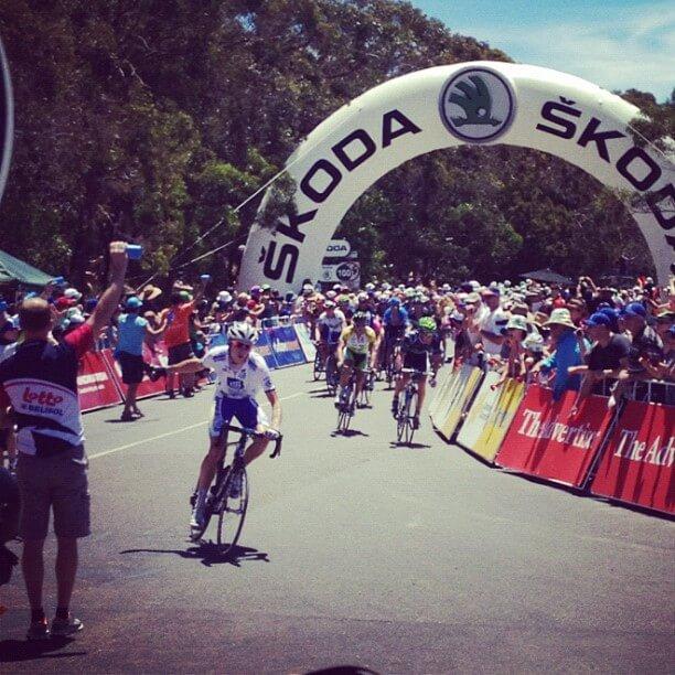 Stage 5 Tour Down Under 2012
