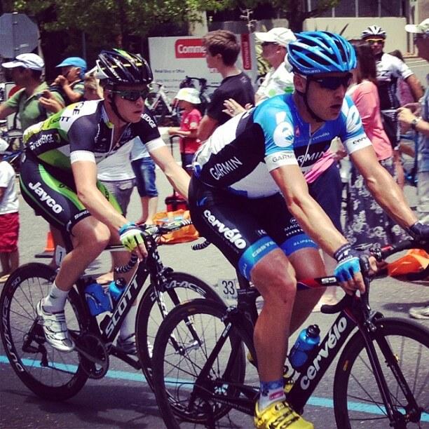 Cameron Meyer Tour Down Under 2012