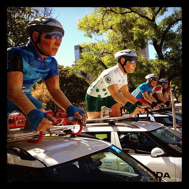 Tour Down Under Convoy