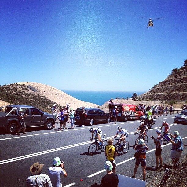 Breakaway Stage 3 Tour Down Under 2012