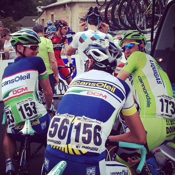 Start Tour Down Under 2012