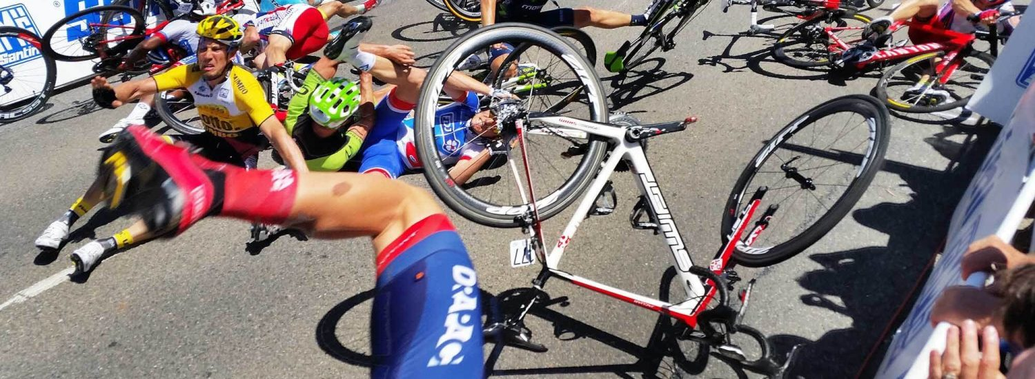 Tour Down Under Stage 4 Crash